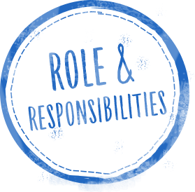 roles responsibilities stamp