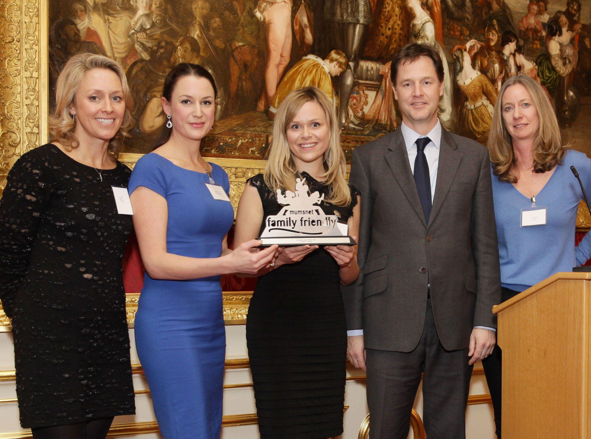 Explore Learning win Mumsnet Innovation Award
