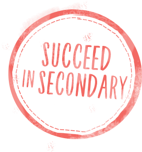 succeed in secondary stamp
