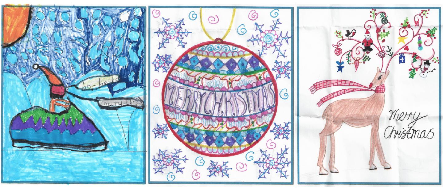 Christmas card designs