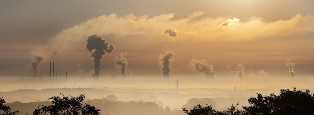 Factory smoke: UK children worry about pollution