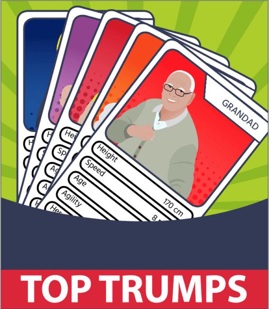 Free resources - top trumps
