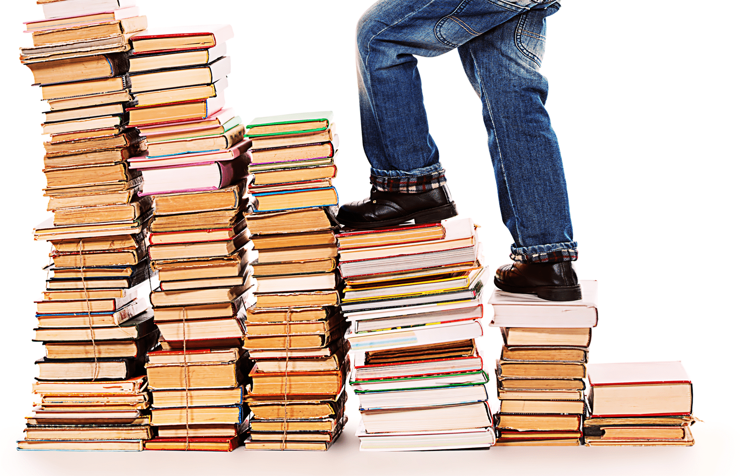 Climbing up towers of books: transitioning to the new school year