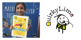 Explore learning member with QuirkyLime design