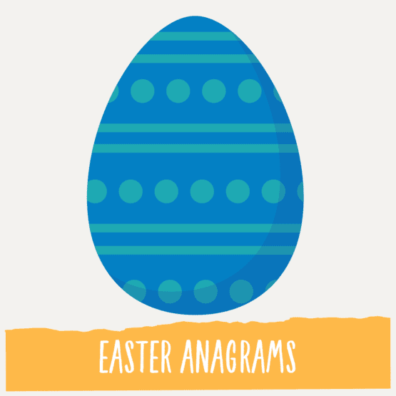 Easter Anagrams activity