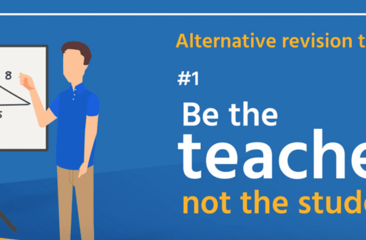 Be the teacher not the student