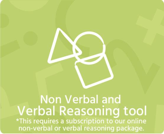 Non verbal and verbal reasoning