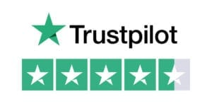 Trustpilot logo 4.5 stars for Explore Learning here