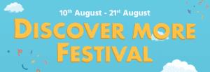 Discover More Festival banner