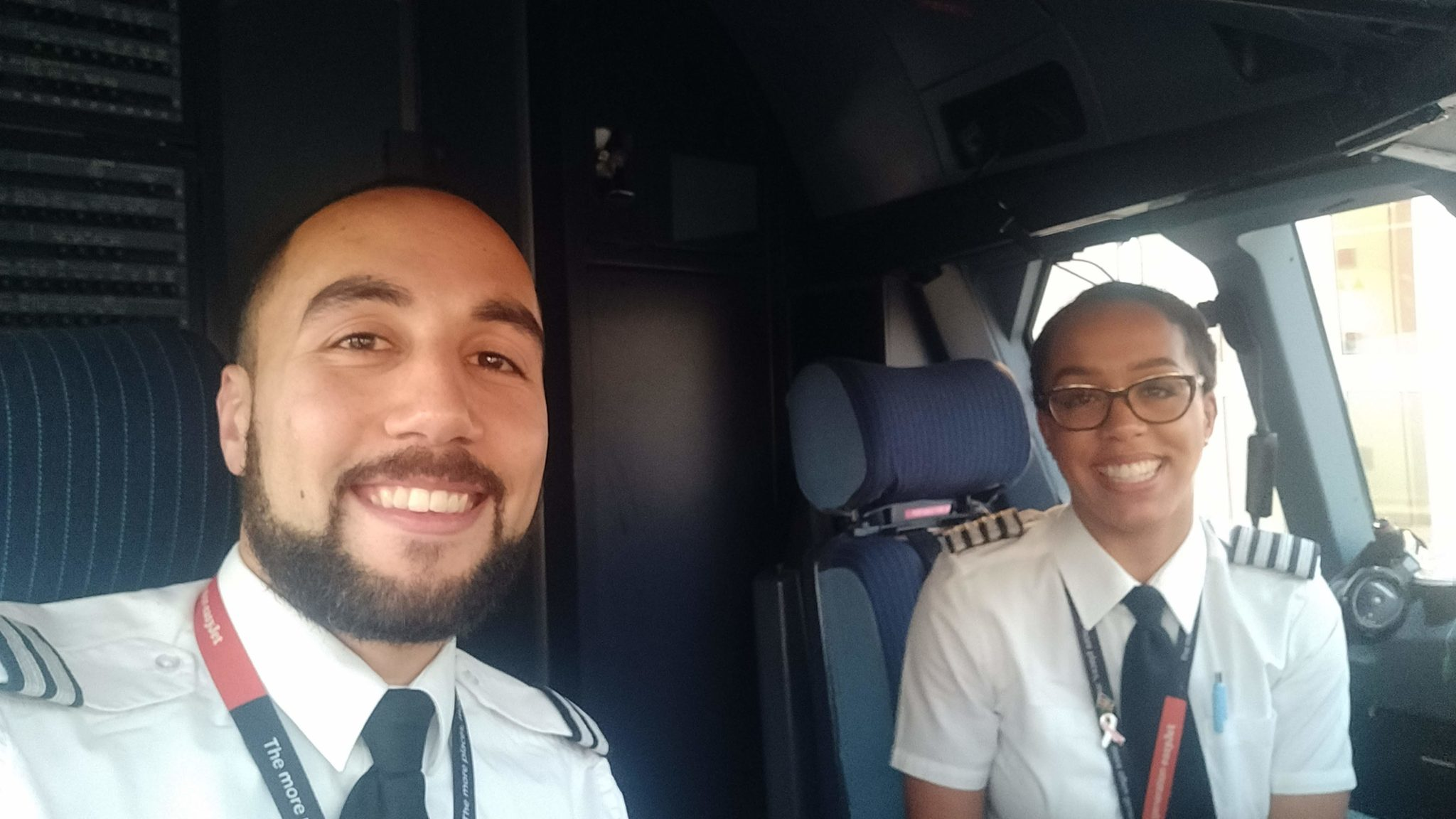 Reach your dreams with pilots Michelle and Aaron