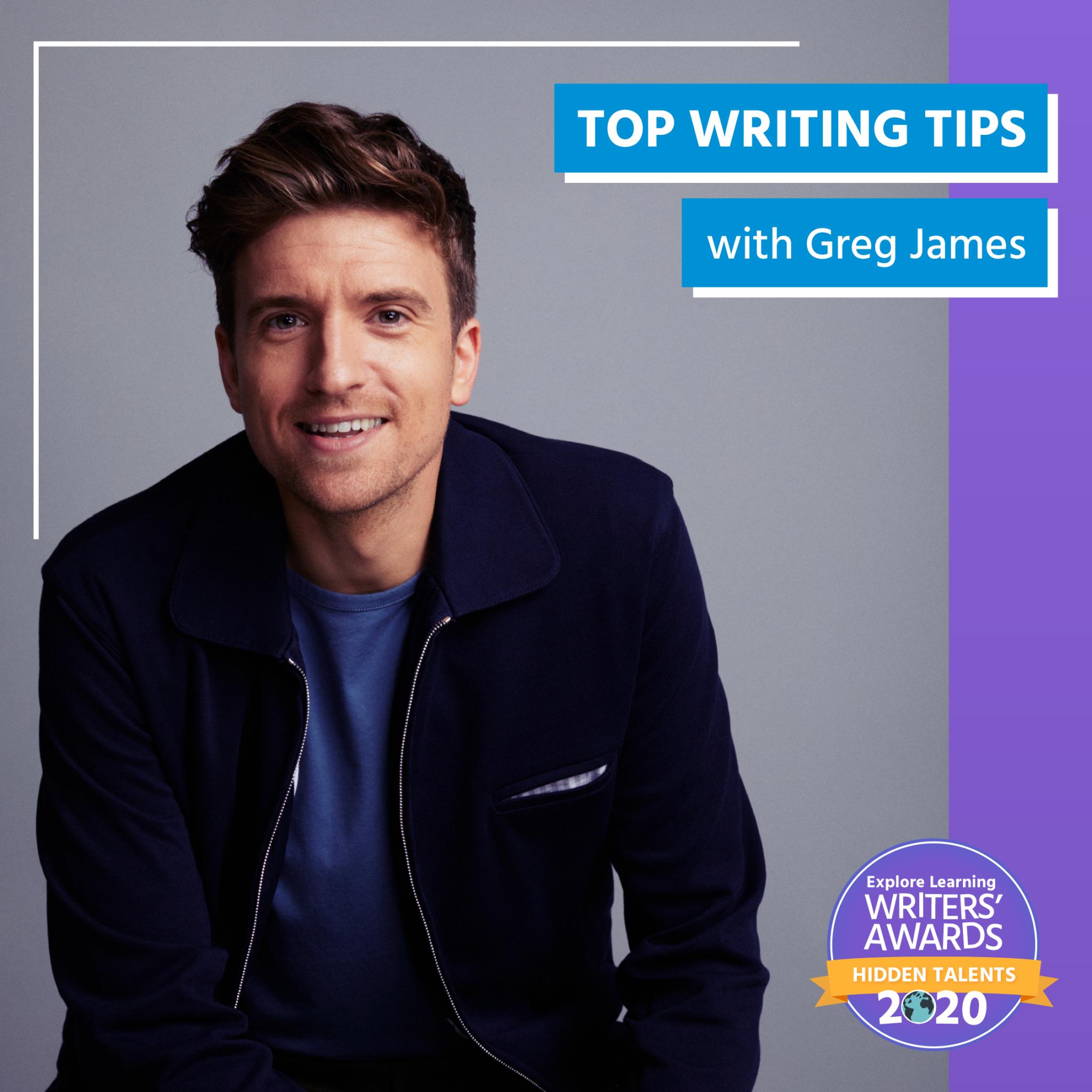 Greg James' Writing Wisdom