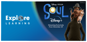 Explore Learning and Disney Pixar's Soul banner