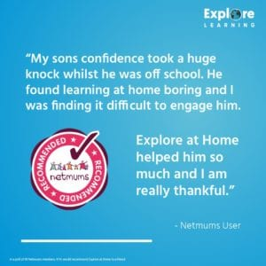 netmums recommended testimonial banner