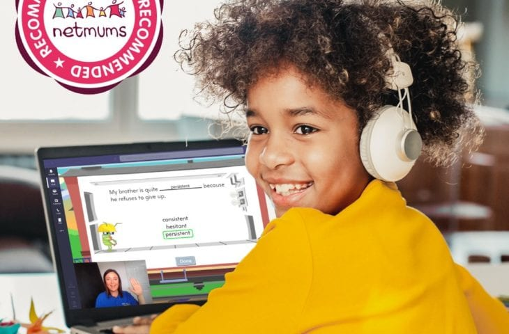 Mumsnet recommended - girl with a laptop