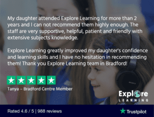 Explore Learning testimonial