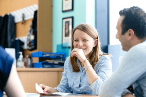 Parent and teacher reading school report