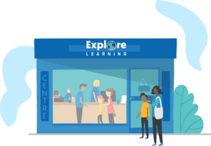 Explore learning centre graphic
