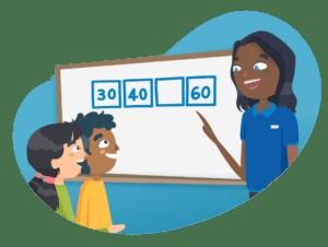Maths tutoring graphic