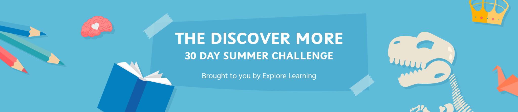 Discover more summer challenge banner