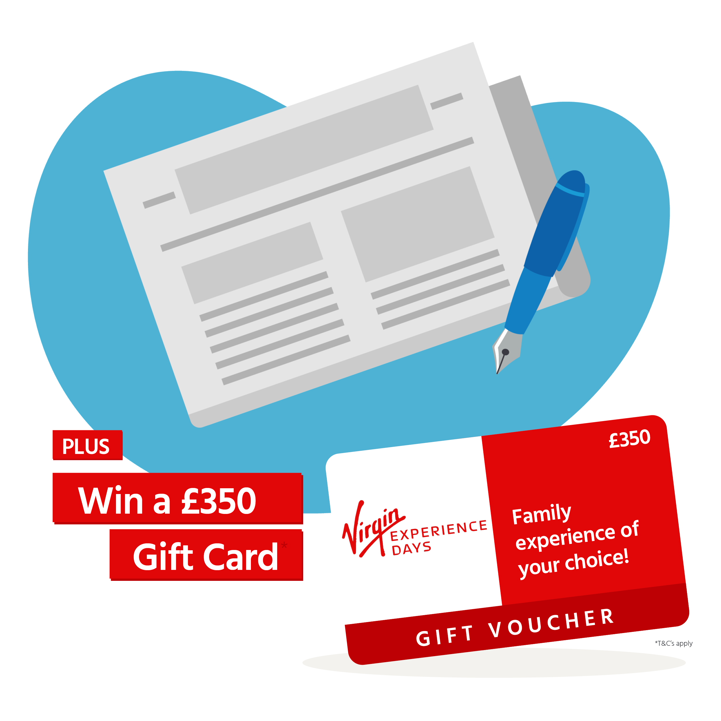 Discover More Competition Win A Gift Card