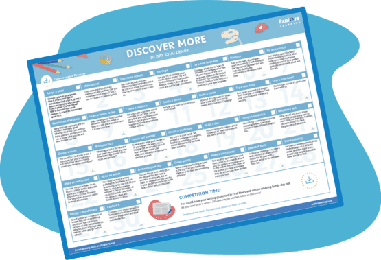 Discover More 30 Day Challenge Sheet