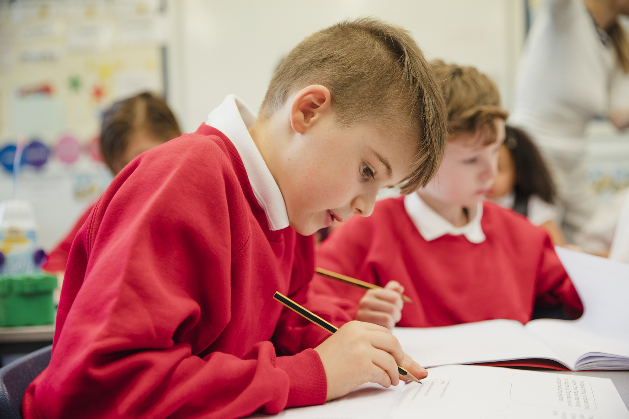 KS2 learning in the classroom